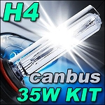 Ignyte Lighting H4 Single Beam 35W Slimline CANBUS HID Kit