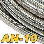 Stainless Braided Rubber Hose AN-10