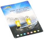 T10 LED Parker Bulbs - Yellow/Orange