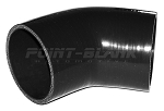 3.25 Inch ID (83mm) 45 Degree Elbow - Black