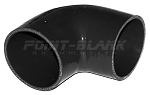 4 Inch ID (102mm) 90 Degree Elbow - Black