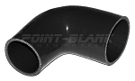 2.5 to 2.25 Inch ID (63-57mm) 90 Degree Elbow Reducer - Black