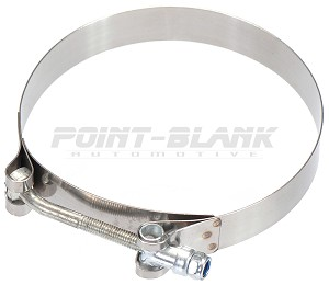 "5"" Stainless T-Bolt Hose Clamp (131-139mm)"