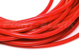 1/8 Inch ID (3mm) Silicone Vacuum Hose - Red 1M